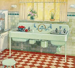 Image four: Electric sink.